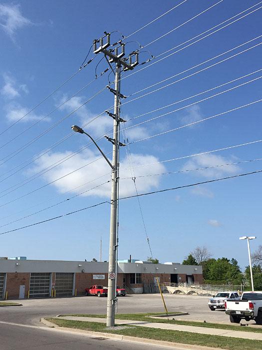 USI - Utility Structures Inc  - Concrete Poles - Utility Distrbution