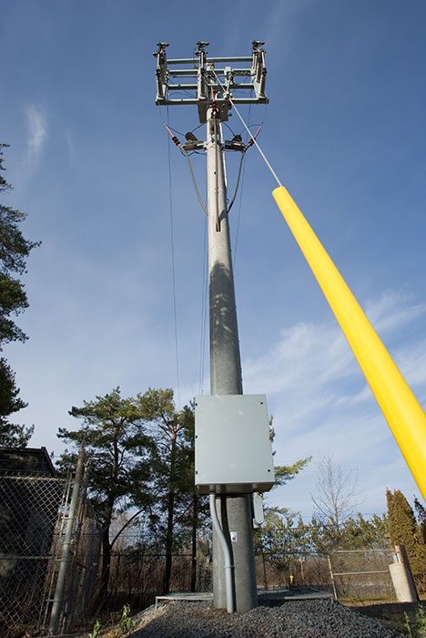 Concrete Electric Poles : Usi utility structures inc concrete poles