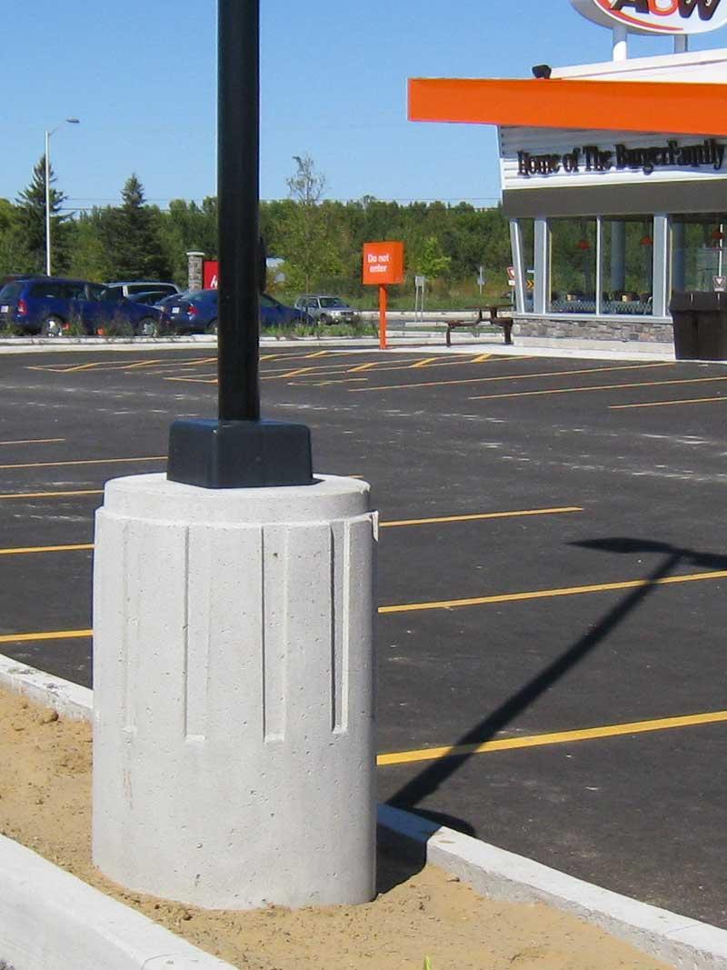 USI - Utility Structures Inc  - Precast Concrete - Pole Bases