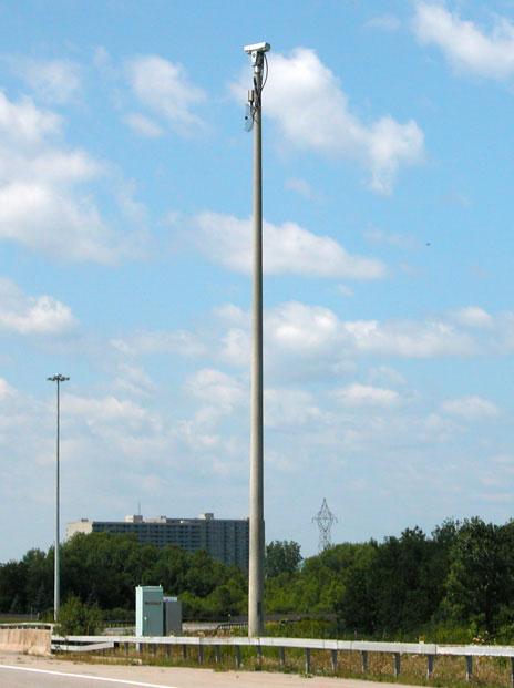 New Concrete Light Pole : Usi utility structures inc concrete poles specialty