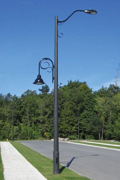 New Concrete Light Pole : Usi utility structures inc concrete poles