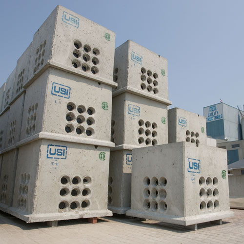 USI - Utility Structures Inc  - Precast Concrete Utility Products