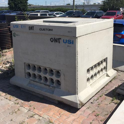 USI - Utility Structures Inc  - Precast Concrete Utility